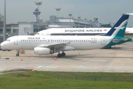 jun☆さんが、シンガポール・チャンギ国際空港で撮影したシルクエア A320-233の航空フォト(飛行機 写真・画像)