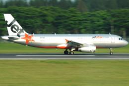 jun☆さんが、シンガポール・チャンギ国際空港で撮影したジェットスター A320-232の航空フォト(飛行機 写真・画像)