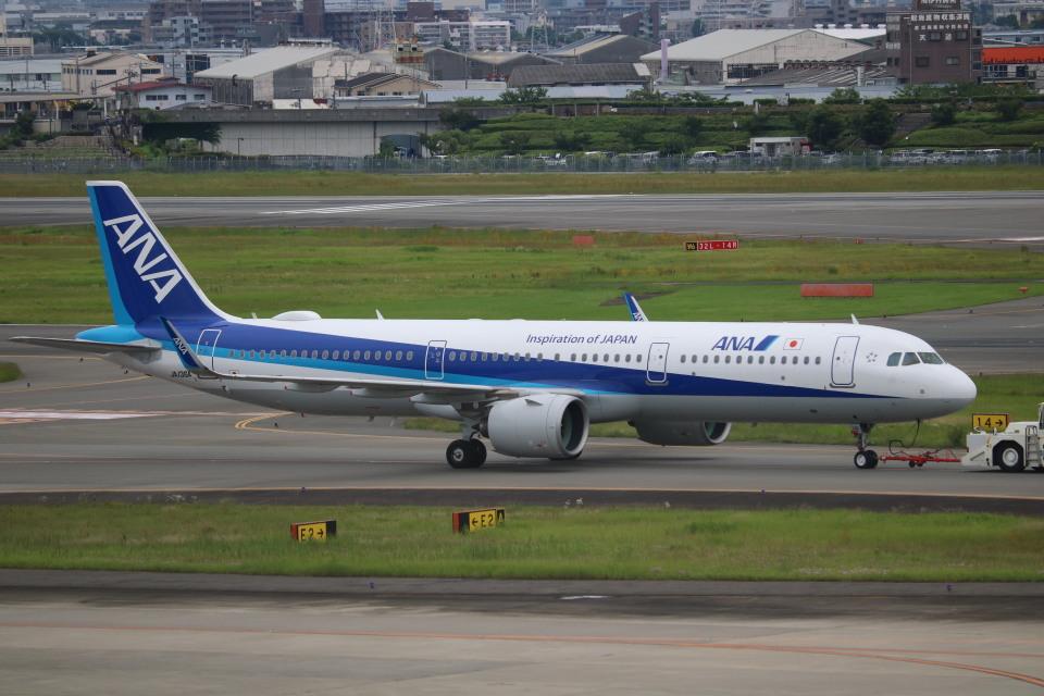なかすぃ~さんの全日空 Airbus A321neo (JA136A) 航空フォト