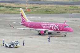 ふうちゃんさんが、神戸空港で撮影したフジドリームエアラインズ ERJ-170-200 (ERJ-175STD)の航空フォト(飛行機 写真・画像)