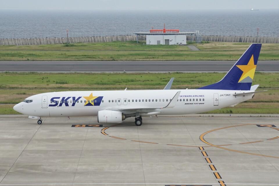 ふうちゃんさんのスカイマーク Boeing 737-800 (JA73NY) 航空フォト