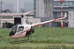 KAZFLYERさんが、東京ヘリポートで撮影した日本法人所有 R22 Beta IIの航空フォト(飛行機 写真・画像)