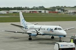NIKEさんが、エディンバラ空港で撮影したフライビー 340Bの航空フォト(飛行機 写真・画像)