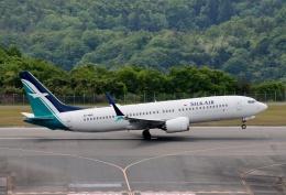 TA27さんが、広島空港で撮影したシルクエア 737-8-MAXの航空フォト(飛行機 写真・画像)