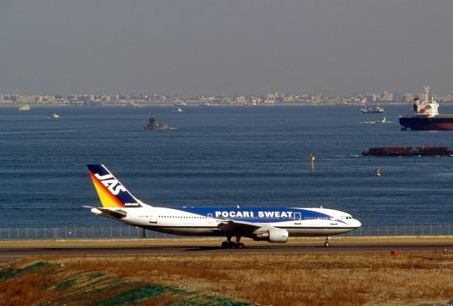 LEVEL789さんが、羽田空港で撮影した日本エアシステム A300B4-622Rの航空フォト(飛行機 写真・画像)
