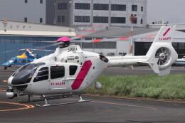 KAZFLYERさんが、東京ヘリポートで撮影した東邦航空 EC135T2の航空フォト(飛行機 写真・画像)