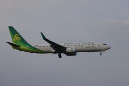 OS52さんが、成田国際空港で撮影した春秋航空日本 737-86Nの航空フォト(飛行機 写真・画像)