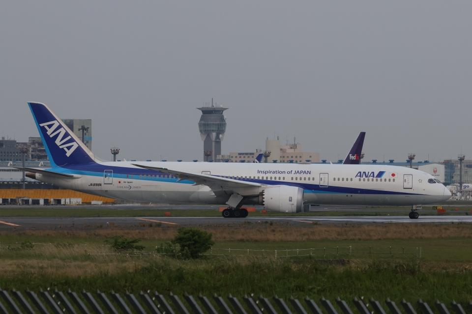 OS52さんの全日空 Boeing 787-9 (JA898A) 航空フォト