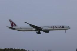 OS52さんが、成田国際空港で撮影したカタール航空 777-3DZ/ERの航空フォト(飛行機 写真・画像)
