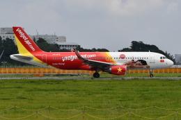 Deepさんが、成田国際空港で撮影したベトジェットエア A320-214の航空フォト(飛行機 写真・画像)