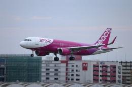 つっさんさんが、福岡空港で撮影したピーチ A320-214の航空フォト(飛行機 写真・画像)