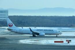 timeさんが、新千歳空港で撮影した日本航空 737-846の航空フォト(飛行機 写真・画像)