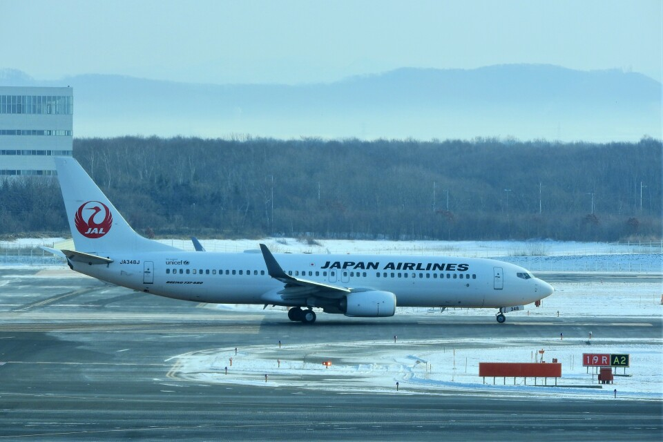 timeさんの日本航空 Boeing 737-800 (JA348J) 航空フォト