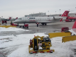 TA27さんが、ミネアポリス・セントポール国際空港で撮影したピナクル航空 CL-600-2B19 Regional Jet CRJ-440の航空フォト(飛行機 写真・画像)