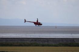 flyflygoさんが、佐賀空港で撮影した日本法人所有 R44 IIの航空フォト(飛行機 写真・画像)