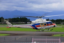 EosR2さんが、鹿児島空港で撮影した国土交通省 地方整備局 412EPの航空フォト(飛行機 写真・画像)