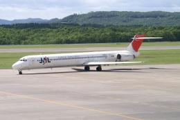 磐城さんが、釧路空港で撮影した日本航空 MD-90-30の航空フォト(飛行機 写真・画像)