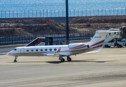 rokko2000さんが、中部国際空港で撮影したTAI LEASING INC G500/G550 (G-V)の航空フォト(飛行機 写真・画像)