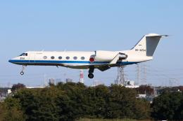 シン・マリオ先輩さんが、入間飛行場で撮影した航空自衛隊 U-4 Gulfstream IV (G-IV-MPA)の航空フォト(飛行機 写真・画像)