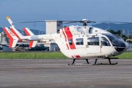T spotterさんが、名古屋飛行場で撮影した川崎重工業 BK117C-2の航空フォト(飛行機 写真・画像)