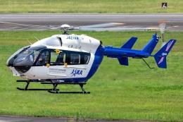 T spotterさんが、名古屋飛行場で撮影した宇宙航空研究開発機構 BK117C-2の航空フォト(飛行機 写真・画像)