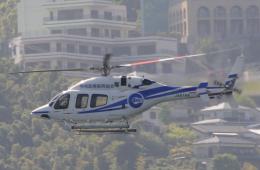 チャーリーマイクさんが、長崎市で撮影した日本法人所有 429 GlobalRangerの航空フォト(飛行機 写真・画像)