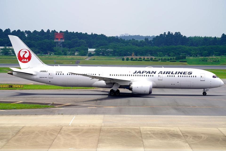 SFJ_capさんの日本航空 Boeing 787-9 (JA866J) 航空フォト