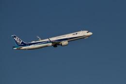 344さんが、羽田空港で撮影した全日空 A321-272Nの航空フォト(飛行機 写真・画像)