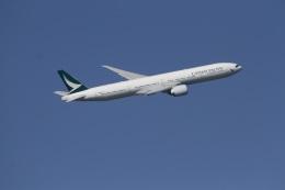 344さんが、羽田空港で撮影したキャセイパシフィック航空 777-367/ERの航空フォト(飛行機 写真・画像)