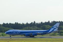 しかばねさんが、成田国際空港で撮影したエアブリッジ・カーゴ・エアラインズ 747-8Fの航空フォト(飛行機 写真・画像)