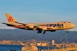 amagoさんが、関西国際空港で撮影したカーゴルクス・イタリア 747-4R7F/SCDの航空フォト(飛行機 写真・画像)