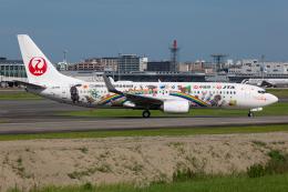 (新)ふぁんとむ改さんが、福岡空港で撮影した日本トランスオーシャン航空 737-8Q3の航空フォト(飛行機 写真・画像)