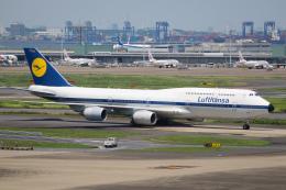 航空フォト:D-ABYT ルフトハンザドイツ航空 747-8