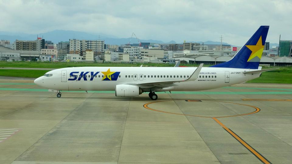 mojioさんのスカイマーク Boeing 737-800 (JA73NY) 航空フォト