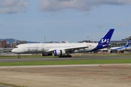 NH642さんが、福岡空港で撮影したスカンジナビア航空 A350-941の航空フォト(飛行機 写真・画像)