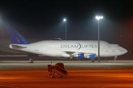 ちゃぽんさんが、中部国際空港で撮影したボーイング 747-4H6(LCF) Dreamlifterの航空フォト(飛行機 写真・画像)