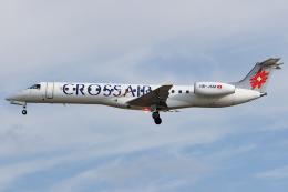 Hariboさんが、フランクフルト国際空港で撮影したクロスエア ERJ-145LUの航空フォト(飛行機 写真・画像)