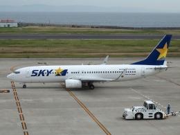 FT51ANさんが、神戸空港で撮影したスカイマーク 737-8FZの航空フォト(飛行機 写真・画像)