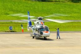 デデゴンさんが、石見空港で撮影したオールニッポンヘリコプター AS365N2 Dauphin 2の航空フォト(飛行機 写真・画像)