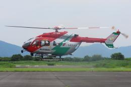 F.YUKIHIDEさんが、岡南飛行場で撮影した岡山市消防航空隊 BK117C-2の航空フォト(飛行機 写真・画像)