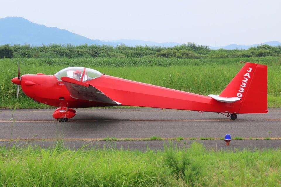F.YUKIHIDEさんの日本個人所有 Scheibe SF-25 Falke (JA2330) 航空フォト