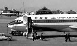 航空フォト:JA8305 全日空 727-100