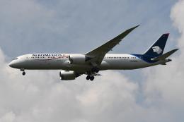 Deepさんが、成田国際空港で撮影したアエロメヒコ航空 787-9の航空フォト(飛行機 写真・画像)