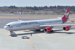senyoさんが、成田国際空港で撮影したヴァージン・アトランティック航空 A340-642の航空フォト(飛行機 写真・画像)