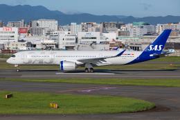 (新)ふぁんとむ改さんが、福岡空港で撮影したスカンジナビア航空 A350-941の航空フォト(飛行機 写真・画像)