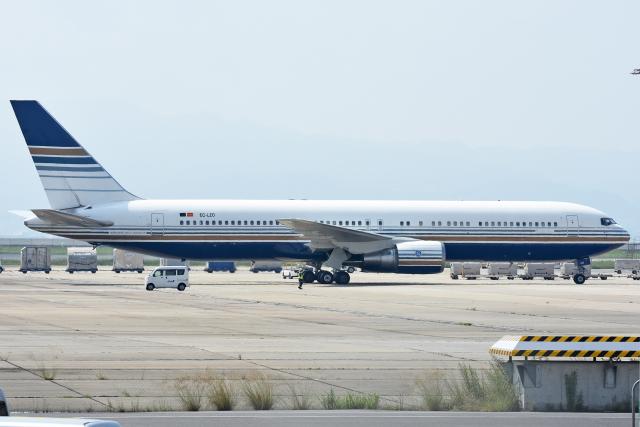 sachiさんが、関西国際空港で撮影したプリビレッジ・スタイル 767-35D/ERの航空フォト(飛行機 写真・画像)