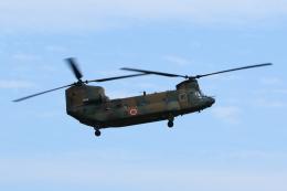よっしぃさんが、熊本空港で撮影した陸上自衛隊 CH-47JAの航空フォト(飛行機 写真・画像)