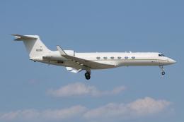 シン・マリオ先輩さんが、横田基地で撮影したアメリカ空軍 C-37A Gulfstream V (G-V)の航空フォト(飛行機 写真・画像)