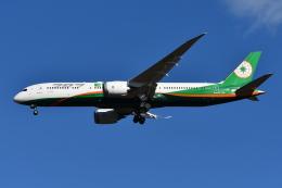 Deepさんが、成田国際空港で撮影したエバー航空 787-9の航空フォト(飛行機 写真・画像)