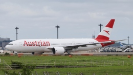 raichanさんが、成田国際空港で撮影したオーストリア航空 777-2Z9/ERの航空フォト(飛行機 写真・画像)